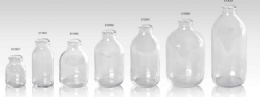 clear infusion bottles ring finish ISO/CFDA 32MM  CFDA28MM,USP TYPE I,II