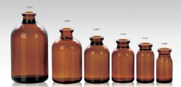 amber moulded injection vials for antibiotics ring finish ISO/CFDA 20MM usp type I,II,III